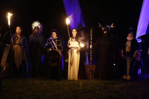 The coming of Samhain at the Puca festival. Copyright Tourism Ireland. Permission to use with story.