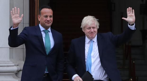 Leo Varadkar said the deal negotiated with the UK gives Ireland important guarantees (Niall Carson/PA)