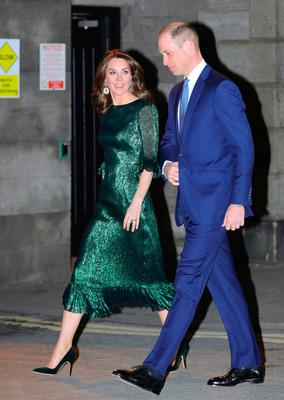 The couple on their way to the Guinness Storehouse