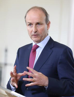 """Taoiseach Micheal Martin chaired a meeting on Friday of Government ministers and promised """"strong enforcement"""" (Julien Behal/PA)"""