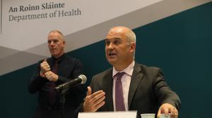 There are early signs of hope, Ireland's chief medical officer Dr Tony Holohan said (Brian Lawless/PA)