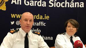Garda Deputy Commissioner John Twomey has urged the public to continue social distancing (PA)