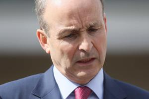 Taoiseach Micheal Martin said the modelling suggested serious consequences for inaction (Brian Lawless/PA).