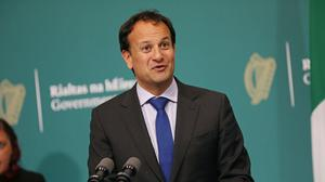 Leo Varadkar is optimistic that Fine Gael, Fianna Fail and the Green Party will enter government together (Julien Behal)