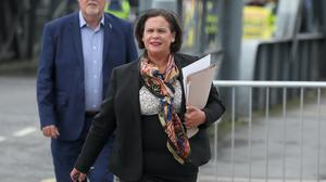Sinn Fein leader Mary Lou McDonald (Brian Lawless/PA)
