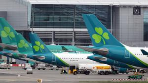 Aer Lingus has brought over 86 million pieces of PPE back from China (Niall Carson/PA)