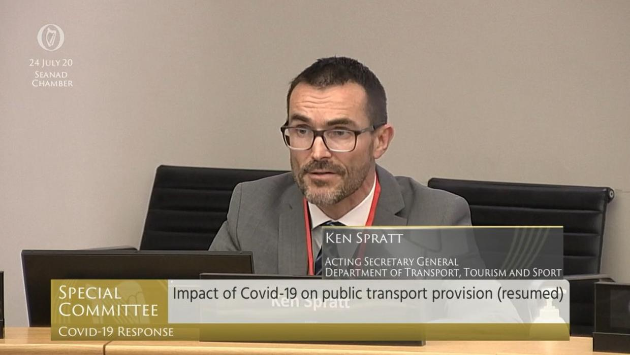 Irish Government : Seanad Special Committee Covid19 Highlights