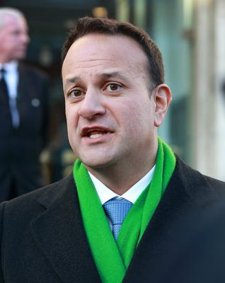 Caution: Leo Varadkar