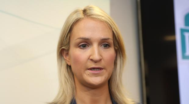 Ireland's minister of state for European affairs Helen McEntee (Brian Lawless/PA)
