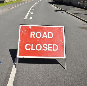 The N17 at Knockdoe remains closed off after a motorist was killed in a crash early on Monday
