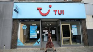 Tui is to close 166 high street stores in the UK and the Republic of Ireland, the tour operator has announced (Martin Rickett/PA)