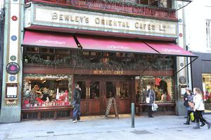 The iconic Bewley's Cafe in Dublin's Grafton Street