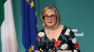 Liz Canavan, assistant secretary for social policy for the Taoiseach, warned that the changes do not 'signal a return to life as we knew it' (Brian Lawless/PA)