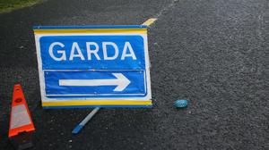 Gardai are investigating the single-vehicle collision (Brian Lawless/PA)