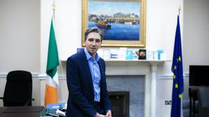 Simon Harris described his time as health minister as 'intense' (Brian Lawless/PA)