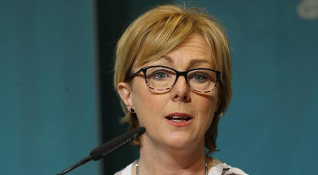 Regina Doherty said it would be 'inappropriate' to withdraw the Public Services Card (Lorraine O'Sullivan/PA)