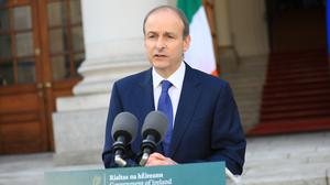 The Taoiseach insisted the Protocol does not threaten the integrity of the UK (Julien Behal/PA)