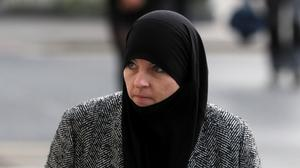 Alleged so-called IS member Lisa Smith arriving at a previous hearing at the Central Criminal Court, Dublin (Brian Lawless/PA)