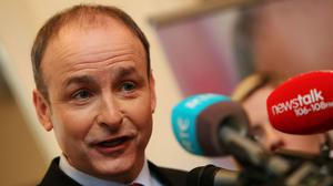 Fianna Fail leader Micheal Martin has reiterated his vow to work in the national interest