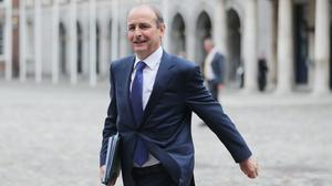 Micheal Martin set out further details of travel restrictions (Niall Carson/PA)