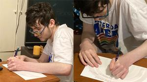 Patrick Joyce has been writing between 10 and 50 cards per day (Indra Joyce/PA)
