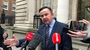 BPFI chief executive Brian Hayes said lenders have agreed extend the payments holiday on mortgages to people affected by Covid-19 (Aine McMahon/PA)