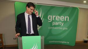 Eamon Ryan has been re-elected (Brian Lawless/PA)