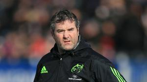 Munster's Head Coach Anthony Foley, who has died at the team hotel in Paris