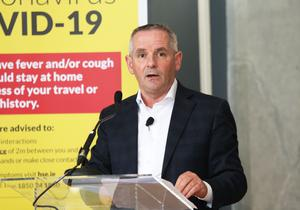 HSE CEO Paul Reid has said private hospital will be used to clear the non-coronavirus treatment backlog built up during the emergency (Photocall Ireland/PA)