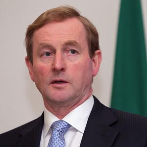 Enda Kenny will fly to Brussels on Monday to negotiate the EU budget