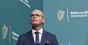 Simon Coveney has criticised the UK Internal Market Bill (Julien Behal Photography/PA)