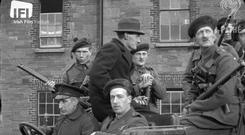 A group of Black and Tans pose for the camera (IFI)