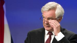 """David Davis said there had been a """"good discussion"""" on maintaining the Common Travel Area"""
