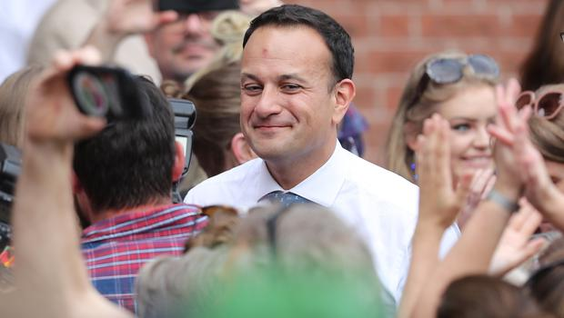Leo Varadkar hailed the result as Ireland overwhelmingly voted to repeal the Eighth Amendment (Niall Carson/PA)