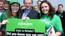Enda Kenny is a keen supporter of the European Union