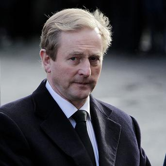 Enda Kenny called on republicans to 'have the decency to give up the information that is necessary for the Smithwick tribunal'