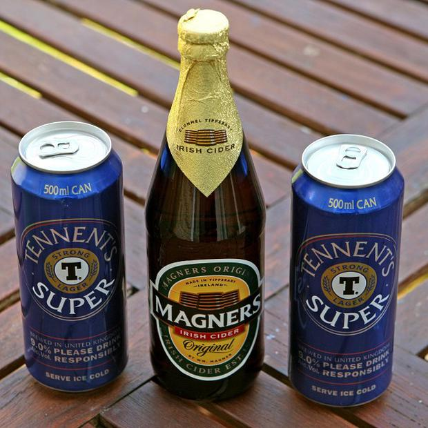 C&C's brands include Magners and Tennent's
