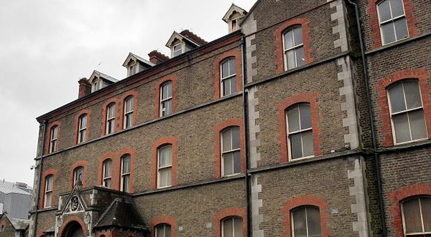 The exterior of the now derelict Sisters of Our Lady of Charity Magdalene Laundry