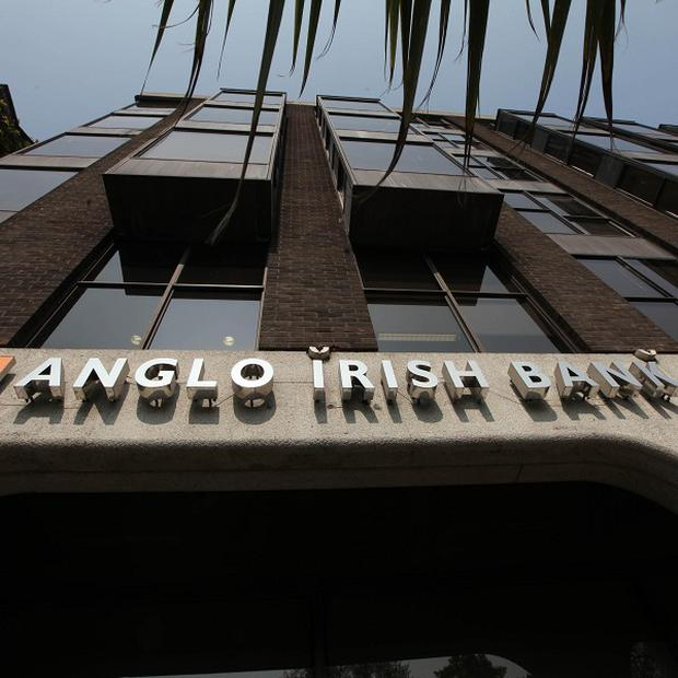 The ECB has yet to give the go-ahead to liquidate the former Anglo Irish Bank