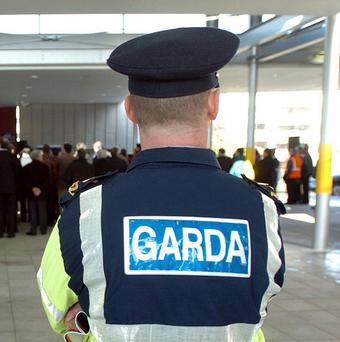 Gardai seized the lethal weapons that were believed to be en route to Northern Ireland on Thursday night