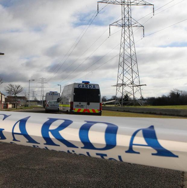 A cyclist has died in a road crash in Enniscorthy