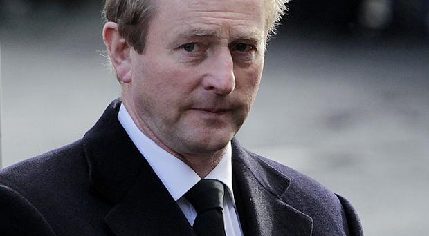 Enda Kenny confirmed the Justice Minister was 'looking at the question' of payments for survivors of a Protestant-run home for unmarried mothers