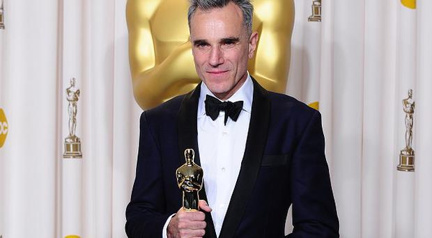 Daniel Day-Lewis collected his third Best Actor Oscar for Lincoln
