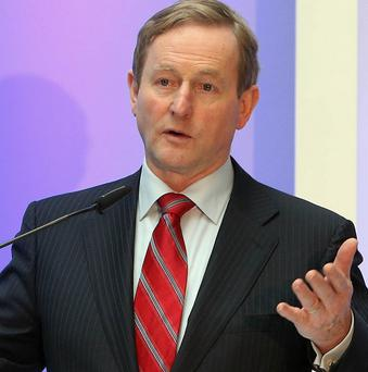 Taoiseach Enda Kenny said workers recognised the importance of frontline services being protected