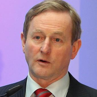 Taoiseach Enda Kenny said one billion euro pay cuts are fair as the public-sector wage bill accounts for 35 per cent of total public spending