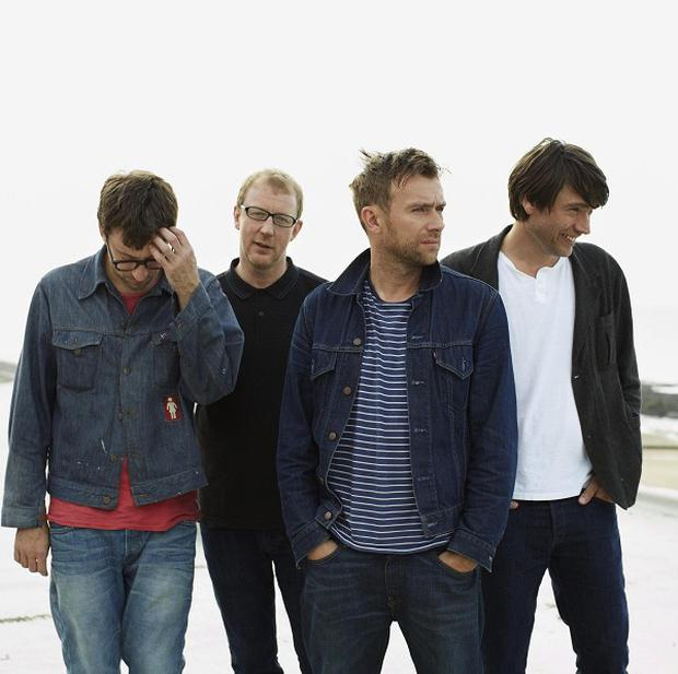 Blur will play at the Irish Museum of Modern Art in Dublin on August 1