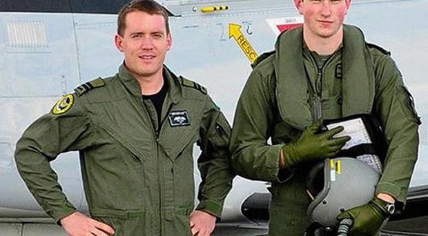 Captain Derek Furniss, left, and Cadet David Jevens, who died in an air crash in Connemara's Crumlin Valley (Billy Doyle/Defence Forces/PA)