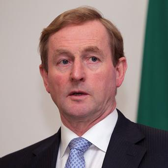 Taoiseach Enda Kenny said there was 'good news' after talks in Brussels