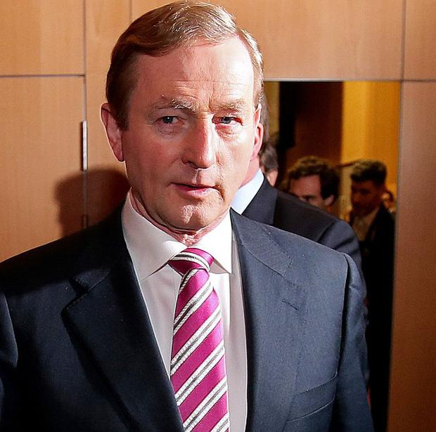 Taoiseach Enda Kenny denied that unions that exited talks early were being punished