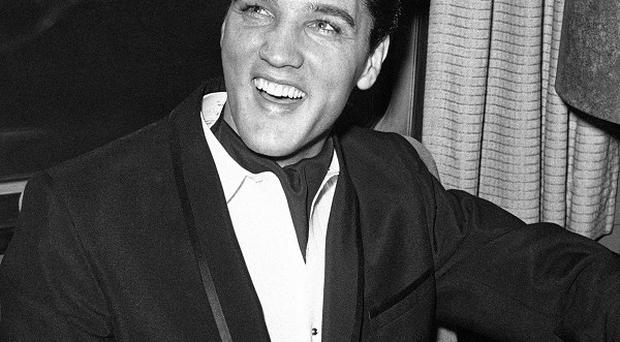 The original 78rpm recording of That's Alright (Mama) by Elvis Presley is up for auction in Dublin (AP)